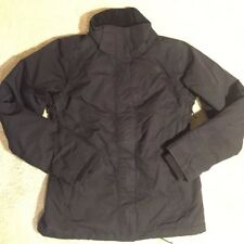 The North Face Hyvent Insulated Jacket Coat Black Women's Small VGC
