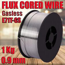 1kg 0.9mm Gasless Mig Welding Wire E71T-GS Flux Cored Welder Wire All Positions