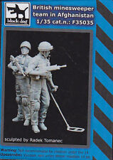 BLACK DOG F35035 - BRITISH MINESWEEPER TEAM AFGHANISTANRESIN KIT 1/35 - NUOVO