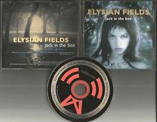 ELYSIAN FIELDS Jack In the Box 2TRX w/ RARE REMIX 1997 USA PROMO DJ CD single