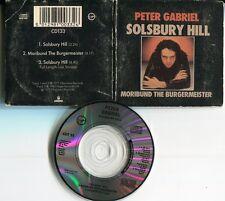 Peter Gabriel  3 tr cd single 3 INCH SOLSBURY HILL incl full length live version