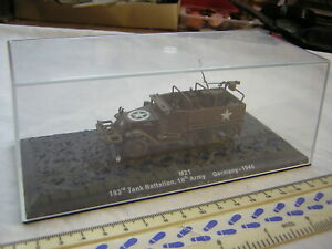 Altaya / Atlas Diecast WW2 American Military M21 Half-Track Scale 1:72 20mm