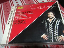 VERDI  Rigoletto Highlights  Placido Domingo CD