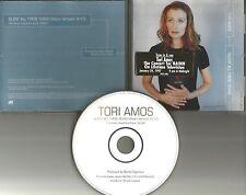 TORI AMOS Silent All these years w/ STICKER ON LID RARE 1997 PROMO DJ CD single