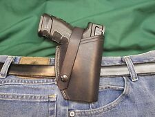 Leather Holster for SPRINGFIELD ARMORY XD9 MOD 2 SUB COMPACT 9 MM