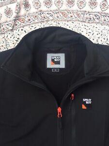 SPRAYWAY - Black - Softshell - Zip Up - Ridge - Jacket - XL
