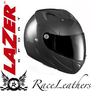 LAZER PANAME LX STEEL GREY GLOSS MOTORCYCLE MOTORBIKE HELMET CLEARANCE SALE