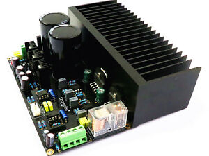 LM3886 Stereo Power Amplifier Board OP07 DC Servo 5534 Amplify PCB