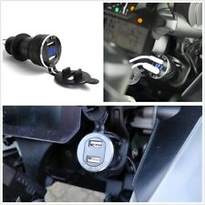 Motorcycle 2 USB 4.2A Voltage Display Charger Plug For BMW F800GS F650GS F700GS