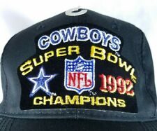 Dallas Cowboys Snapback Hat Sports Specialities Super Bowl XXVII Champs 1992 93