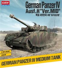 1/35 German Panzer IV Ausf.H Ver Mid #13516 Academy Model Kit With Free Gifts