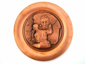 Vintage 1977 Rockwell's Rockwell Limited Edition Collectible Copper Plate