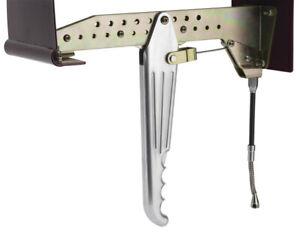 Lokar Billet Aluminium Emergency Hand Brake LOK-EHB-9200Under Dash