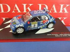 Die cast 1/43 Modellino Auto Peugeot 306 Maxi Rally Aviles 1997