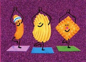 Friendship Greeting Card - Yoga Snacks