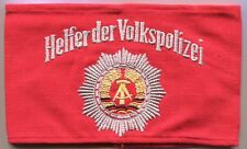 East German Armband, Helpers of the People's Police, Helfer der Volkspolizei