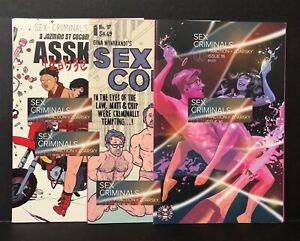 SEX CRIMINALS #16 17 18 XXX Covers FIONA STAPLES Erica Henderson NM Image Comics