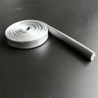 Heat Fire Flame Thermo Sleeve Shield For Fuel Oil Hose 16mm ID SILVER (1M)