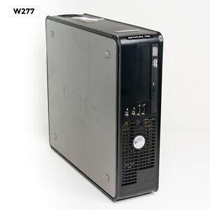 DELL OPTIPLEX 755 SFF INTEL CORE 2 QUAD Q6600 @2.40GHz/ 4GB/ 250GB WIN 10 W277