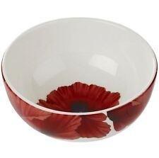 "Portmeirion Botanic Blooms poppy rimless bowl 14cm / 5.5"""