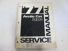 Arctic Cat Service Shop Manual 1977 JAG - Used