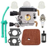 NEW Carburetor For STIHL FS55R FS55RC FS55 KM55 HL45 KM55R FS38 w/ Fuel Line Kit