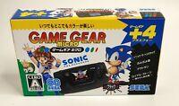 Sega Game Gear Micro Black Sonic + Puyo Puyo 2 + Outrun + Royal Stone