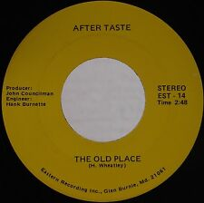 AFTER TASTE: The Old Place PRIVATE Baltimore 45 Rock Funk OBSCURE 70s NM