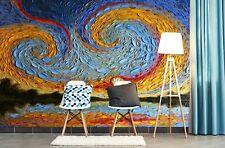 3D Caring Sun A112 Wallpaper Wall Mural Self-adhesive Dena Tollefson Amy