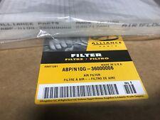 ONE GENUINE ALLIANCE TRUCK PARTS AIR FILTER  ABP/N10G-36000006