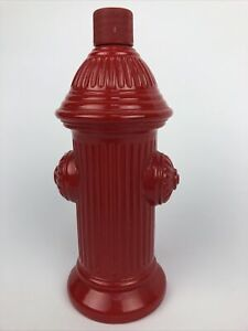 AVON VINTAGE COLLECTIBLE RED FIRE HYDRANT COLOGNE BOTTLE-WILD COUNTRY AFTERSHAVE