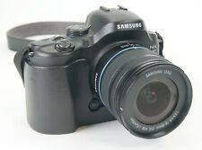Samsung NX NX20 20.3MP Digital Camera - Black Kit w/ 18-55mm Lens & half case