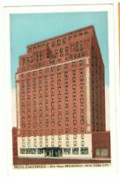 Undated Unused Postcard Hotel Chesterfield New York City NY NYC