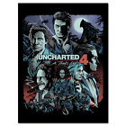 Uncharted 4 Game Poster - Characters Exclusive Collage Art - High Quality Prints