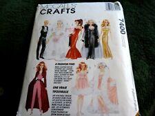 pattern Barbie and Ken wardrobe (1994)
