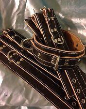 Collar ,Wrist,Ankle English Leather Handmade. Any Size,Colour. Bondage, Fetish.