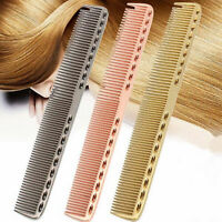 Long Comb U-shaped Space Comb Pro Barbers Hairdressing Hair Cutting Aluminum