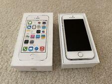 Apple iPhone 5s - 16GB - Silver (Verizon) A1533 (CDMA + GSM) Unlocked Mint W Box