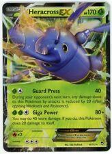 Furious Fists 4/111 Heracross EX Holo Pokemon Card
