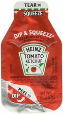 Heinz Tomato Ketchup, 0.95-Ounce Single Serve Packages (Pack of 100)