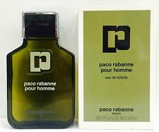 Paco Rabanne Pour Homme EDT 240 ml Splash (No Spray)  OLD FORMULA  New & Rare