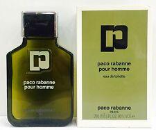 Paco Rabanne Pour Homme EDT 240 ml Splash (No Spray)  OLD FORMULA  New & Rare