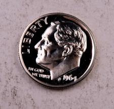 (1) 1964 *Pointed 9* Roosevelt Dime / Gem Proof Dcam / 1 Coin