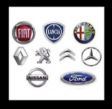 CODICE SBLOCCO  AUTORADIO FIAT - ALFA - LANCIA - PEUGEOT - CITROËN - FORD M - DB