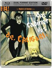 DAS CABINET DES DR. CALIGARI di Robert Wiene BLURAY+DVD (DualDisc) NEW .cp