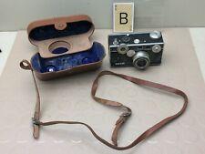 Vintage ARGUS  Black Camera w/  Leather Case