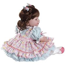 Adora Piece of Cake 20'' Baby Doll, Brown Hair  with Blue Eyes NRFB