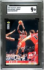 1995-96 UD Collector's Choice Michael Jordan #324 SGC 9 MT (Comp PSA)