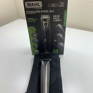 Wahl Stainless Steel Cordless 9 in 1 Lithium Ion Trimmer Kit WM8080-800 (1448)