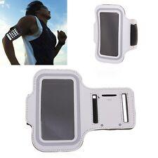 Armband SILVER iPhone 5 SE 5S 5C 6 6S Running Sports Gym & Screen Guard NEOPRENE
